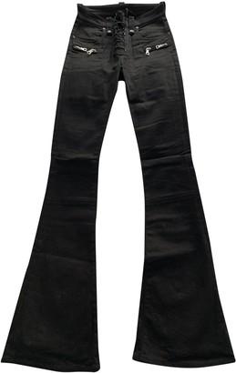 Unravel Project Black Cotton Jeans