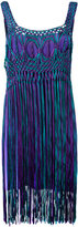 Alberta Ferretti tassel dress - women - Rayon/other fibers - 42