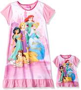 Disney Little Girls' Multi-Princess Nightgown