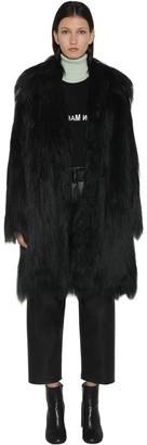 MM6 MAISON MARGIELA Faux Fur Coat