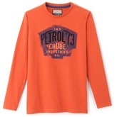 PETROL INDUSTRIES Long-Sleeved Crew Neck T-Shirt