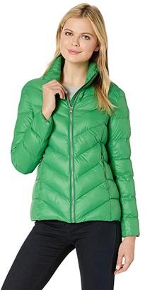 Lauren Ralph Lauren Polyfill Jacket (Cambridge Green) Women's Coat