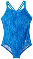 Nike Rush Heather Spiderback One-Piece Girl's Swimsuits One Piece