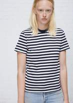 RE/DONE Striped Ringer Tee
