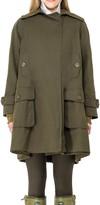 Max Studio Water Repellent Wool Lined Raincoat