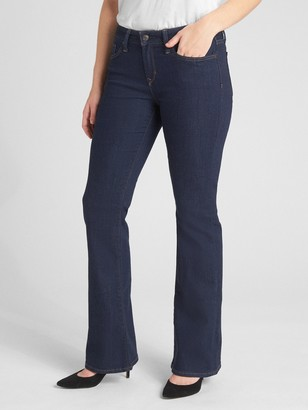 Gap Mid Rise Long & Lean Jeans
