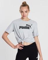 Puma Essentials+ Logo Boyfriend Tee