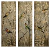 Home Decorators Collection 42 in. H Calima Bird Wall Decor (Set of 3)