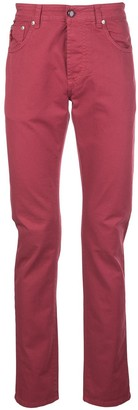 Isaia Slim-Fit Chino Trousers