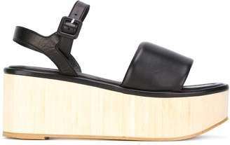 Clergerie platform buckled sandals