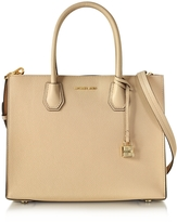 Michael Kors Mercer Large Oyster Pebble Leather Large Convertible Tote Bag