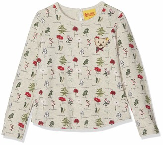 Steiff Girl's Langarmshirt Long Sleeve Top