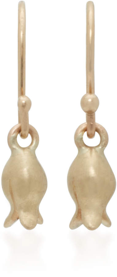 Annette Ferdinandsen 14K Gold Earrings