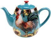 Certified International Sunflower Rooster 40-oz. Teapot