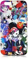DSQUARED2 Multicolor Manga Print Silicone iPhone 6 Cover