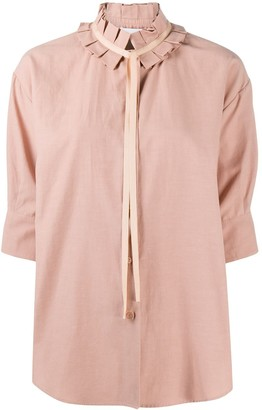 See by Chloe Pleated Collar Shirt