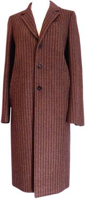 Balenciaga Brown Wool Coats