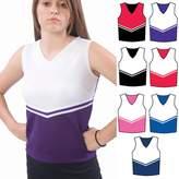 Pizzazz White Cheer Uniform Top Girls 10-12
