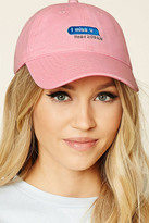 Forever 21 I Miss U Graphic Baseball Cap