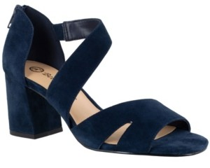 Bella Vita Korrine Women's Block Heel Sandals Women's Shoes