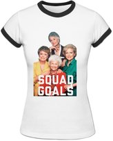 Vivianus Women's Short Sleeve T-shirts - Golden Girls L White