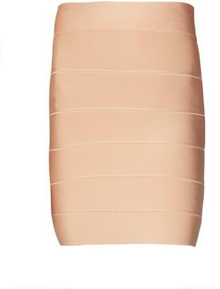 Herve Leger Bandage Mini Pencil Skirt