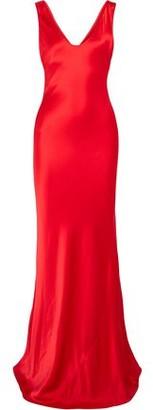 Galvan Valletta Silk-satin Gown