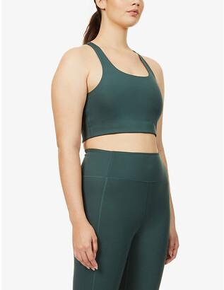 Girlfriend Collective Paloma sports stretch-jersey bra