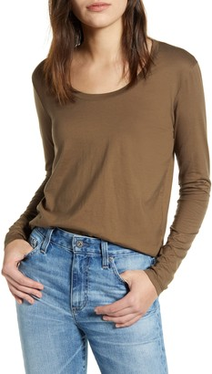 AG Jeans Cambria Long Sleeve Tee
