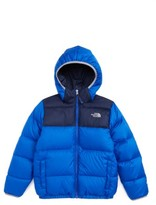 The North Face Boy's 'Moondoggy' Water Repellent Reversible Down Jacket