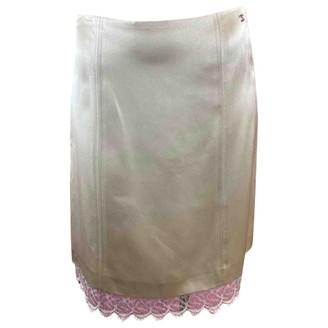 Chanel Beige Silk Skirts