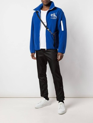 Calvin Klein Jeans Est.1978 moon odyssey fleece jacket