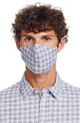 Brooklyn Brigade Houndstooth 2-Pack Adult Adjustable Contoured Cotton Face Masks