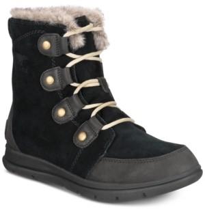 Sorel Women's Explorer Joan Lug Sole Waterproof Booties Women's Shoes