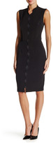 Alexia Admor Scallop Sheath Dress