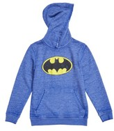 JEM Boy's Batman Burnout Fleece Hoodie
