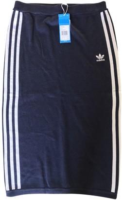adidas Blue Viscose Skirts