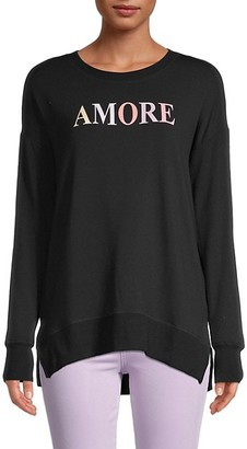 For The Republic Amore Graphic Sweatshirt