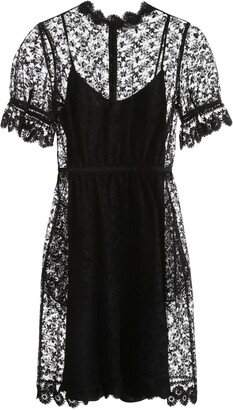 Burberry Floral Lace Dress