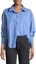 Vetements Menswear Cotton Shirt