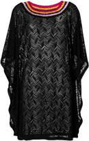 Missoni contrast collar sweater dress