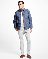 Brooks Brothers Lightweight Quilted Shirt Jacket