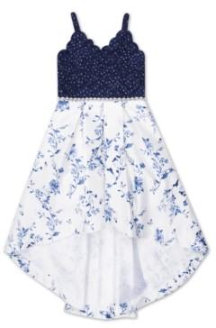Speechless Big Girls Floral Social Dress