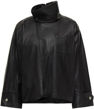 3.1 Phillip Lim Leather Shirt