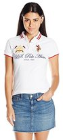 U.S. Polo Assn. Juniors Embellished Quilted Shoulder Shirt