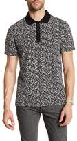 Slate & Stone Star Patterned Polo
