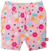Zutano Friendly Bird Bike Shorts (Baby) - Pink-18 Months