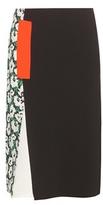 Stella McCartney Patchwork Crêpe Skirt