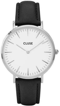 Cluse La Boheme Silver White/Black Watch CL18208