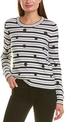 Piazza Sempione Striped Wool Sweater